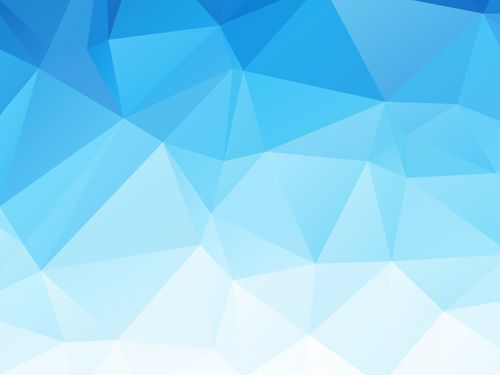 Embossment triangular blue background vector 04 free download