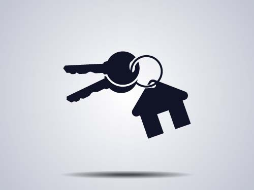 Houses With Key Logos Vector Vector Logo Free Download