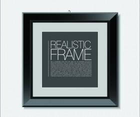 Modern photo frame shiny vector set 01