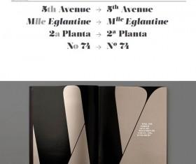 Vintage salome fonts