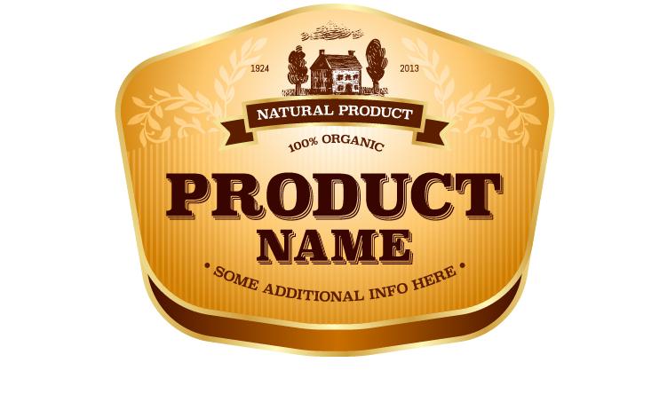 Wine Label Vintage Design Vector Material Set 23