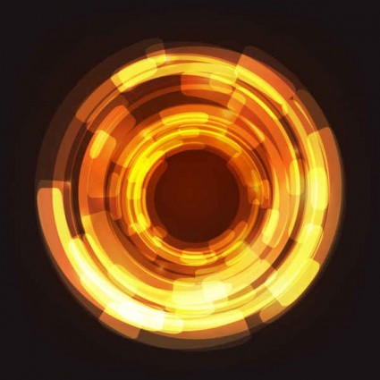 circular abstract light background vector free download