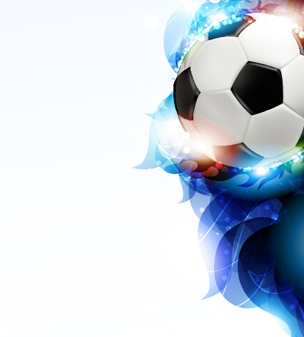 Abstract soccer art background vector 04 free download