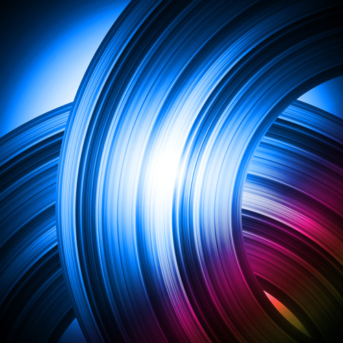 Abstract swirl shining background vectors 01