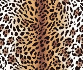 Animal fur texture seamless pattern vector 01
