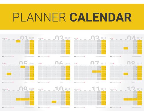 annual planning calendar