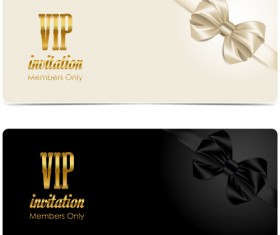 Vip vector page 7 of 13 for free download beautiful bow with vip invitation card vector 04 stopboris Image collections