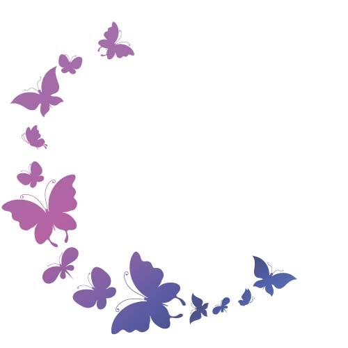beautiful butterflies design vectors graphics 03 vector