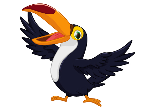 Image result for Toucan cartoon