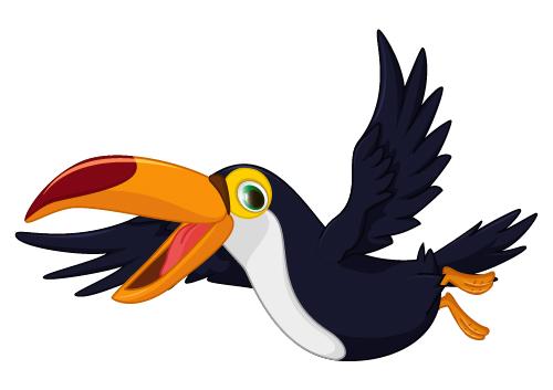 Cartoon toucan bird vector 04 - Vector Animal, Vector Cartoon free ...