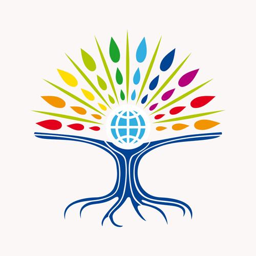 creative tree logo vector graphics 02 free download