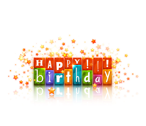 Happy Birthday vector for free download