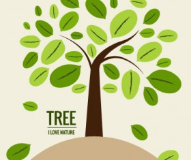 Eco friendly love nature vector template 11