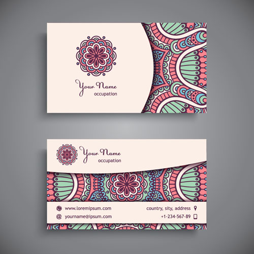Ethnic pattern business card vintage vector 09 free download ethnic pattern business card vintage vector 09 reheart Gallery
