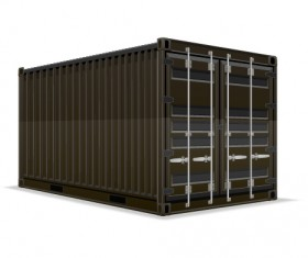Freight container design vector 01