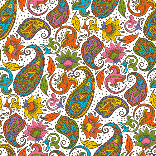 Indian patterns vector - photo#22