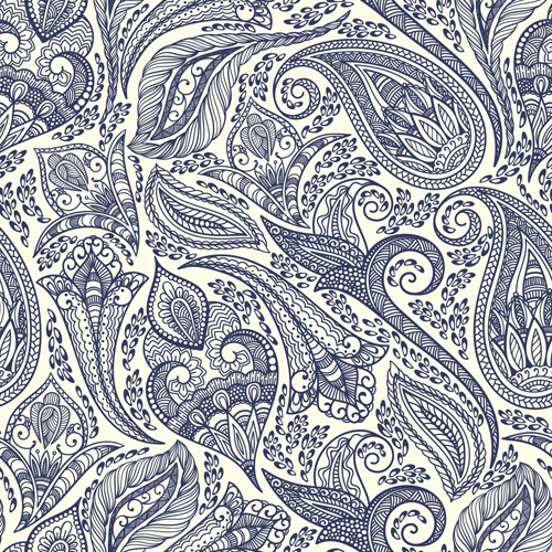 Indian patterns vector - photo#19