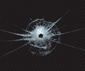 Isolated broken glass vector background 05