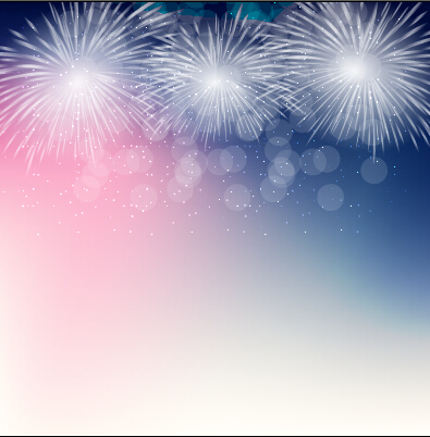 light colored fireworks background art vector 05 free download
