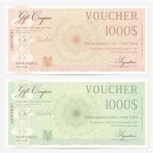 Ornate gift voucher vintage template vector 02 vector card free ornate gift voucher vintage template vector 02 yadclub Image collections