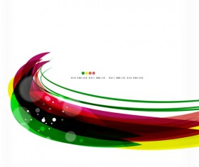 Vector colored abstract background art 03