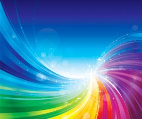 Vector colored abstract background art 04