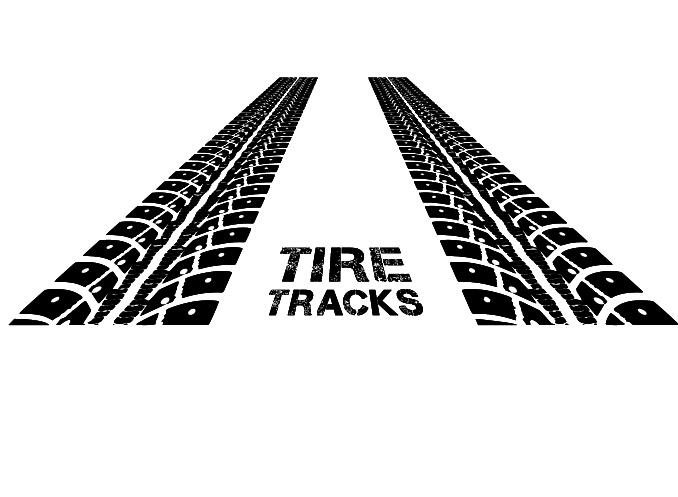 vector clipart tire tracks - photo #33