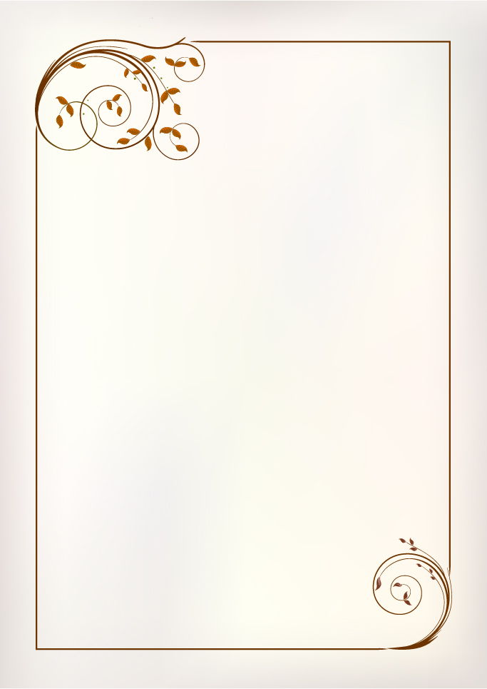 simple ornament frame vector material 01 free download