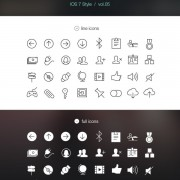 32 kind tab-bar ios7 styles icons