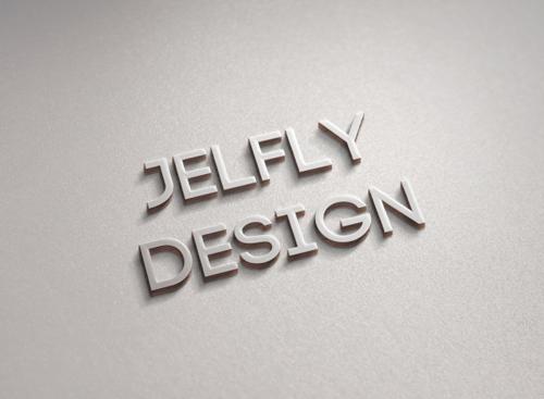 3D logo psd material