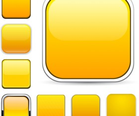 App button icons colored vector set 22