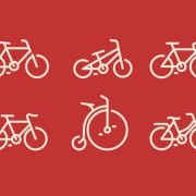 Bicycle ui icon psd graphic