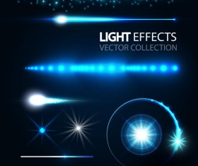 Concept light effects vector graphics 01