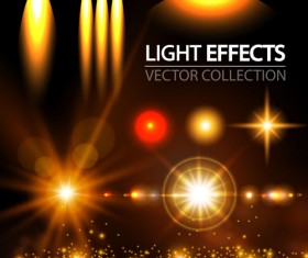 Concept light effects vector graphics 02