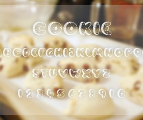 Cookies Dough Fonts