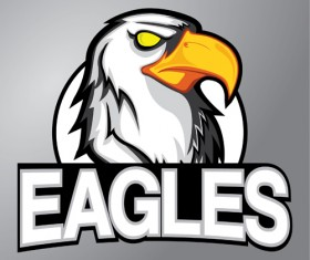 Eagles logo vector material 01