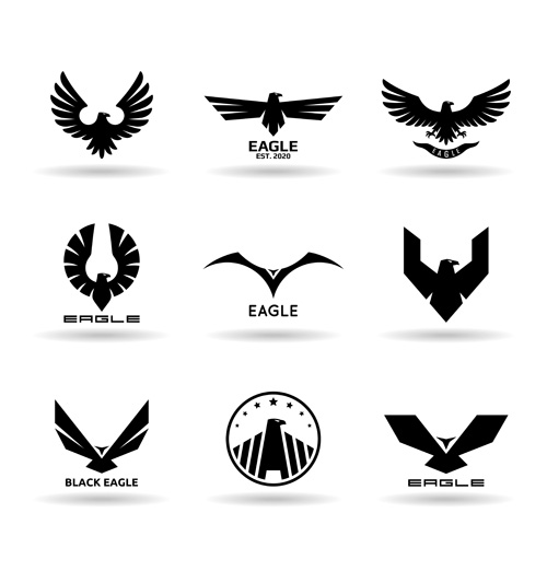 eagles vector for free download