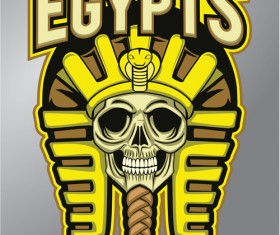 Egypts logo vector material