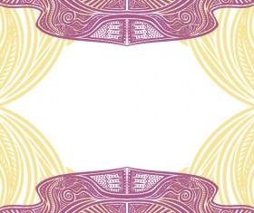 Floral tiling pattern vintage vector set 11