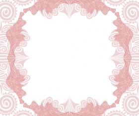 Floral tiling pattern vintage vector set 15