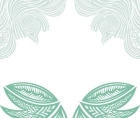 Floral tiling pattern vintage vector set 16
