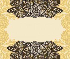 Floral tiling pattern vintage vector set 20