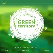 Link toFriendly product green background vector 01