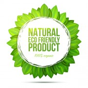 Link toFriendly product green background vector 02