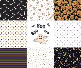 Halloween pattern vector seamless material 04