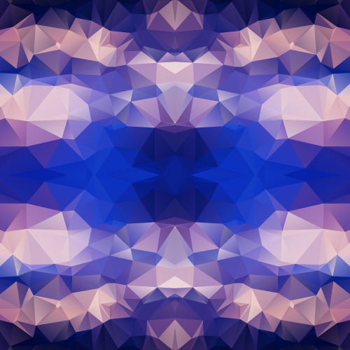 Kaleidoscope geometric shapes background vector material 03