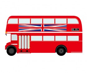 London bus simple vector