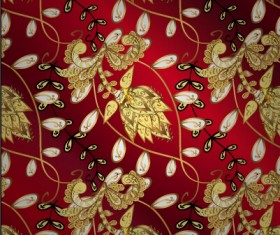 Luxury ornament floral pattern seamless vecrtor 07