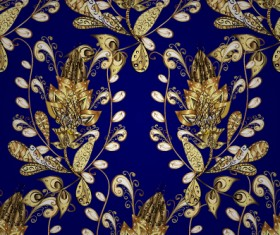 Luxury ornament floral pattern seamless vecrtor 14