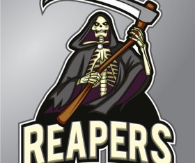 Reapers logo vector design